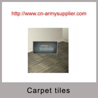 Buy cheap Customerized home commercial plain jacquard carpet tiles with backing from wholesalers