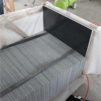 Buy cheap Black And White Marble Bathroom Floor Tiles Customized Service from wholesalers