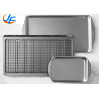 Buy cheap OEM Aluminium Baking Tray , All Clad D3 Stainless Steel Jelly Roll Pan For Industry from wholesalers