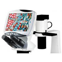Buy cheap Digital LCD Inverted Biological Microscope 9 Inches HD LCD Screen Resolution 1280 × 800 from wholesalers