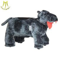 Buy cheap Hansel amusement animal ride made in china and stuffed animals kids scooter for kids with plush walking horse toy from wholesalers