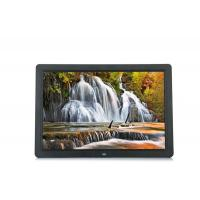 Buy cheap 15.4'' LCD Screen 1280x800 LCD Video Brochure USB AVI Black Color Advertising Player from wholesalers