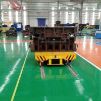 Buy cheap 20t battery power electric rail transfer car for metal industry handling from wholesalers