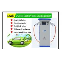 Wholesale level 3 EVSE quick DC EV charger for all electric vehicle super fast EV charging station with CE certification from china suppliers