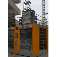Buy cheap SC200/200BD Passenger Material Hoist , Rack Pinion Lift Max Lifting Height 450M from wholesalers