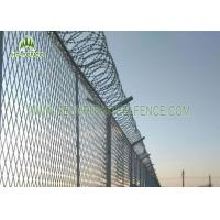 China PVC Coated 4.0mm Wire Welded Mesh Fence Waterproof With SHS 60 × 60mm Post on sale
