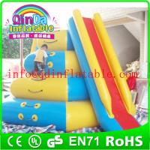 Buy cheap Giant QinDa inflatable water slide for sea lake pool inflatable water pool slide from wholesalers