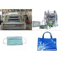 3200mm SMS PP Non Woven Fabric Production Line 0 - 350m/min Manufactures
