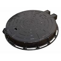 China BS EN124 F900 Cast Iron Manhole Cover Round Single Sealed Airport Manhole Cover on sale