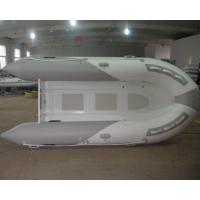 Buy cheap Deep V Aluminum RIB Boat PVC Inflatable Boats 6 Person With Foot pump from wholesalers