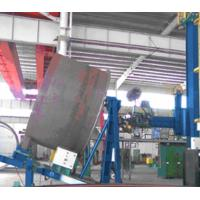 Tilt Rotator For Wind Power Tube Flange Welding / Wind Tower Production Line Manufactures