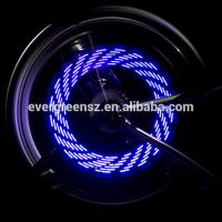 Bike and Bicycle wheel light 7 LED 30 rainbow colorful patterns Functions led wheel light Manufactures