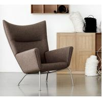 Buy cheap Wing chair comfortable livigroom furniture Fabric Covered Sectional Sofa with Footstool from wholesalers