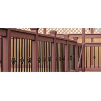 Buy cheap Brown Wood Plastic Composite Deck Railing With No Toxic Chemicals / Preservatives from wholesalers