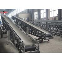Buy cheap Aggregated Mineral Mobile Belt Conveyor Adjustable Height Customized Size from wholesalers