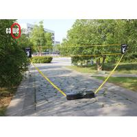 Wholesale Easy Set Up 3 In 1 Sports Set , Sturdy Camping Tennis Badminton Volleyball Set from china suppliers