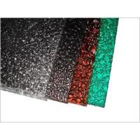 Buy cheap Embossed Pattern Bayer/Lexan Raw Material Polycarbonate Sheet from wholesalers