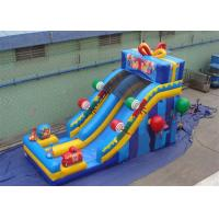 Buy cheap Happy Birthday Gift Inflatable Water Slide with Silk - screen Printing from wholesalers