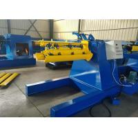 Wholesale 7 Ton Bearing Hydraulic Decoiler Machine , Low Noise Sheet Metal Folder from china suppliers