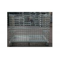 Buy cheap Large plastic collapsible pallet box pallet collapsible bulk container from wholesalers