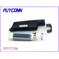 Wholesale Parallel Port Connector, 25pair Centronic Solder Hard Type Male Connectors with 90° Plastic Cover from china suppliers