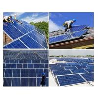 Wholesale 200 Watt Silicon Solar Panels Tempered Front Glass With Maximum Power Output from china suppliers