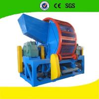 Wholesale Energy Saving Tire Shredding Equipment High Shaft Speed For Outside from china suppliers