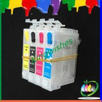 Wholesale 4 color refillable cartridge for Epson XP-200 with reset chip from china suppliers