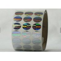 Buy cheap Honeycomb Security Hologram Sticker , Tamper Evident Labels Eco - Friendly  Material from wholesalers