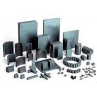 Buy cheap Y10T, Y20 good anti-corrosion bonded ferrite magnet with ring, block shape for copycat from wholesalers