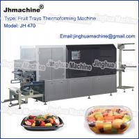 Buy cheap Automatic four station thermoforming machine for Egg trays, Lunch box from wholesalers