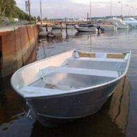 Buy cheap Aluminum Boat with Standard Facilities of 2-seat and 5-piece Reinforcement from wholesalers