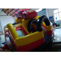 Buy cheap Toddler Playground Inflatable Bouncer Combo Air Inflated Car Jumping Bouncer Slide from wholesalers