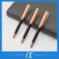 Buy cheap Top Luxury Rose Gold Eco Friendly Metal Roller Pen Gifts Promotion Pen from wholesalers