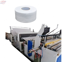Buy cheap Automatic Rewinding Jumbo Roll Toilet Tissue Paper Making Machine price from wholesalers