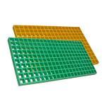Buy cheap Walkway Anti - Slip FRP Grating Panels , Fiberglass Bar Grating With UV from wholesalers