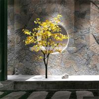Wholesale Small 1.75m Artificial Ginkgo Tree Yellow Leaf Store Decoration Corrosion Resistance from china suppliers