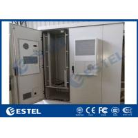 Buy cheap Durable Outdoor Data Cabinet IP65 Three Bay Sandwich Structure Heat Insulation Material from wholesalers