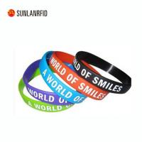 Buy cheap Custom Silicon Wristband /rfid silicone wristbands from wholesalers