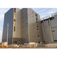 Buy cheap Prefab Customized Multi Storey Steel Frame Structure Buildings For Office / Apartment from wholesalers