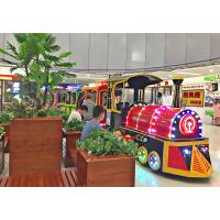 Buy cheap External Mini Electric Train Shopping Mall Trackless Toy Train 1.55×0.095×2.2 M Body Size from wholesalers