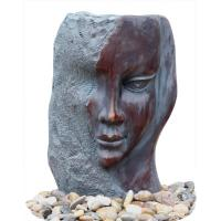 Buy cheap Customized Size Indoor / Outdoor Copper Water Fountains In Lady Face from wholesalers