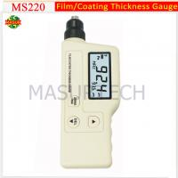 Buy cheap handheld digital coating thickness gauges MS220 from wholesalers