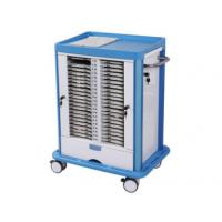 Buy cheap Metal On Wheels Hospital Chart Holder , Noisiless Storage Exam Room Cabinets from wholesalers