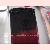 Buy cheap Harmony Quality ombre hair extension clip in from wholesalers