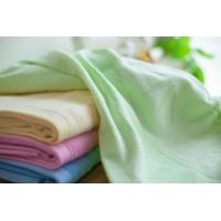 Buy cheap Fashionable Organic Cotton Towels Solid Colors Unique Microfiber Bamboo Cotton Towels from wholesalers