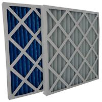 HVAC Equipment G3 G4 Pleated Panel Air Filters Cardboard Frame Disposable Coarse Filters Manufactures