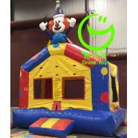 Buy cheap 2016 hot sell Clown inflatable bouncer  with 24months warranty GT-BC-1838 from wholesalers