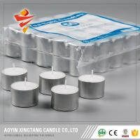 Buy cheap 4hrs Mini White Tealight Wax Candle to Malysia from wholesalers
