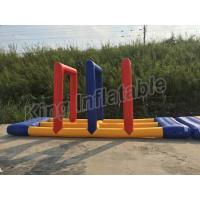 Buy cheap Funny Hot Welding Inflatable Water Toy  Inflatable Swing For Lake Or Sea from wholesalers